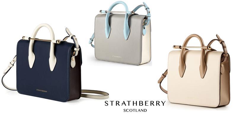 Strathberry 苏格兰品牌包包,2017新款评测