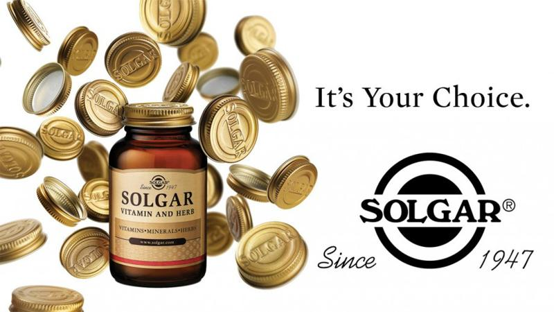 【Solgar】美国顶级保健品牌十大明星产品