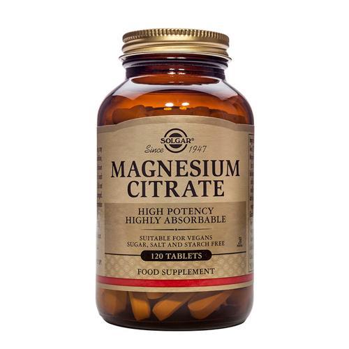 Solgar Magnesium Citrate(柠檬酸镁)