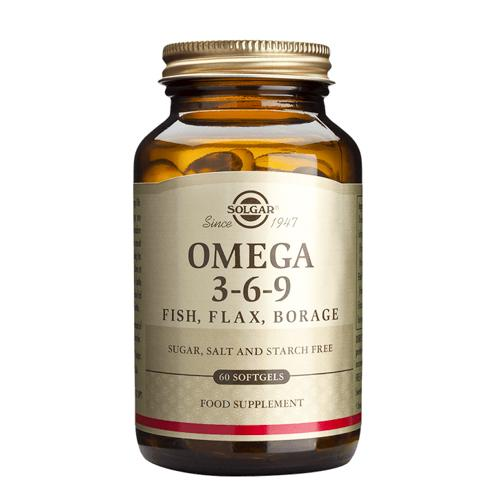 Solgar Omega 3-6-9 Fish, Flax, Borage(深海鱼油)