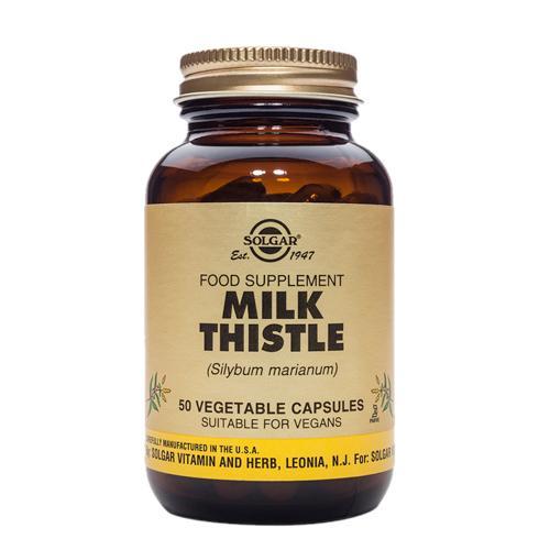 Milk Thistle 50 Vegetable Capsules(奶蓟素食胶囊)