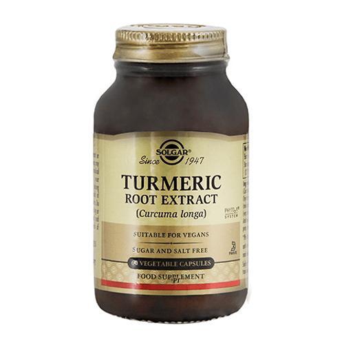 Solgar Turmeric Root Extract 60 Vegi Capsules(姜黄素)