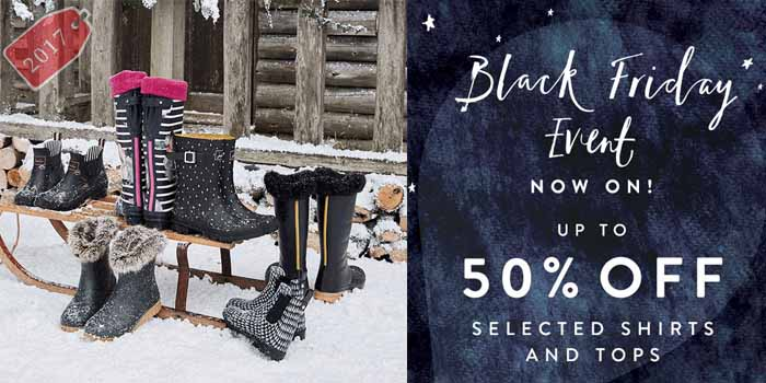 Joules black friday
