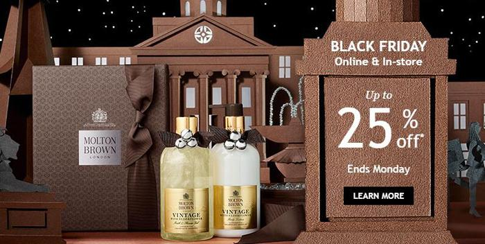Molton Brown black fridya
