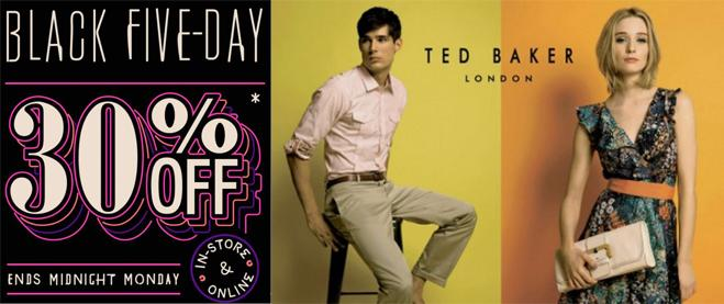Ted Baker black friday