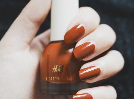 H&M指甲油