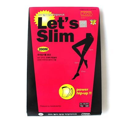Let's Slim瘦腿袜200D