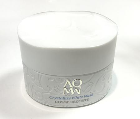 AQMW Crystallize White Mask(黛珂白檀亮白面膜)