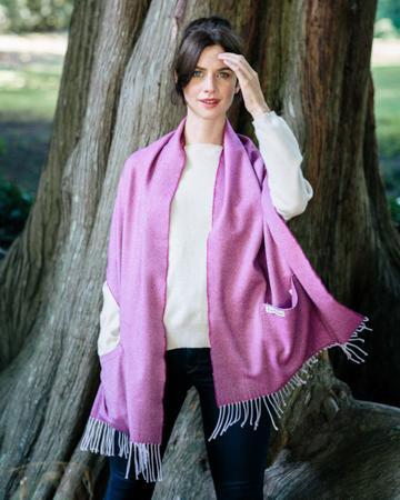 AVOCA美丽诺羊毛口袋围巾系列