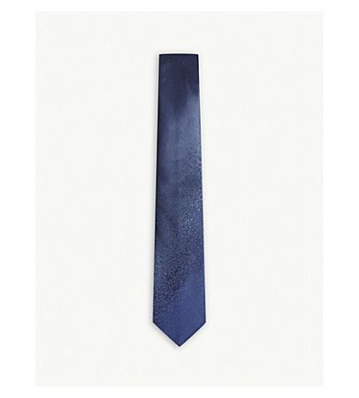 Lanvin Degrading Fade Silk Tie(浪凡褪色效果丝绸领带)