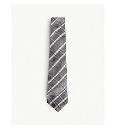 Tom Ford Prince of Wales Check Silk Tie(汤姆福特威尔士王子丝绸领带)