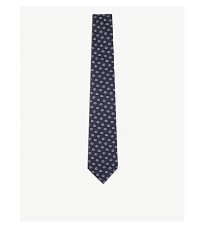 Gucci Logo Silk Tie(古奇标识领带)
