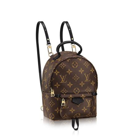 Louis Vuitton Palm Springs Backpack Mini 老花小书包