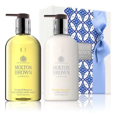 Molton Brown Orange & Bergamot Hand Wash & Lotion Set(洗手液 & 身体乳套组)