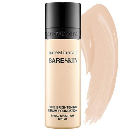 bareMinerals Bareskin Pure Brightening Serum Foundation 矿物水亮面膜精华粉底