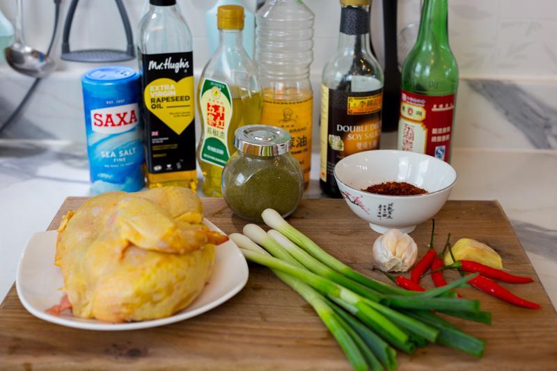 邦利煮食|用英国本土食材做川味红油凉拌鸡