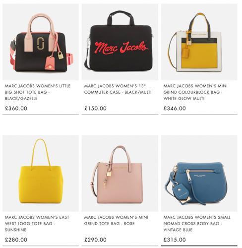 英国哪里可以买到Marc Jacobs正品包包