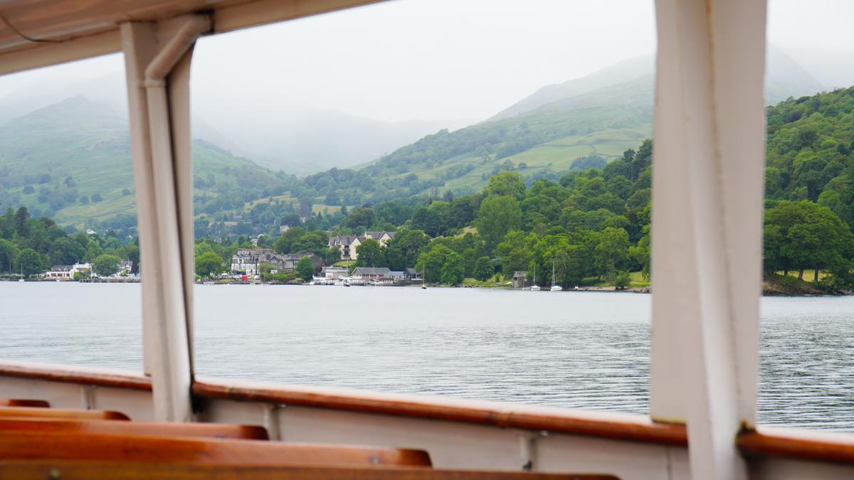 游船上看到的风景