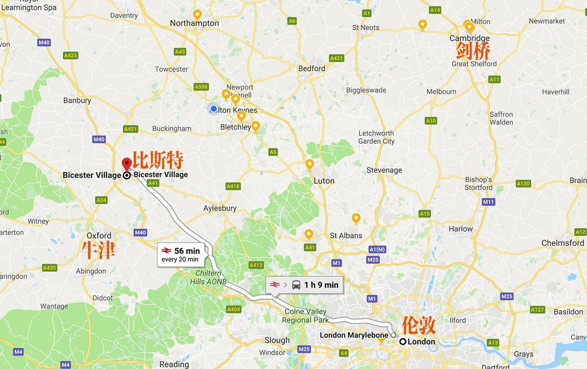 比斯特购物村离伦敦1小时车程
