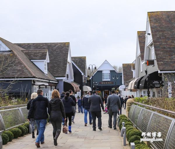 Bicester Village 入口