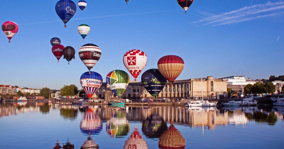 2017年布里斯托国际热气球节盛况