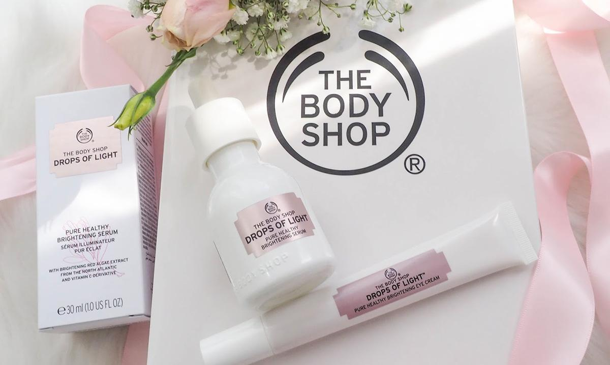 The Body Shop Drop of Light 亮白系列