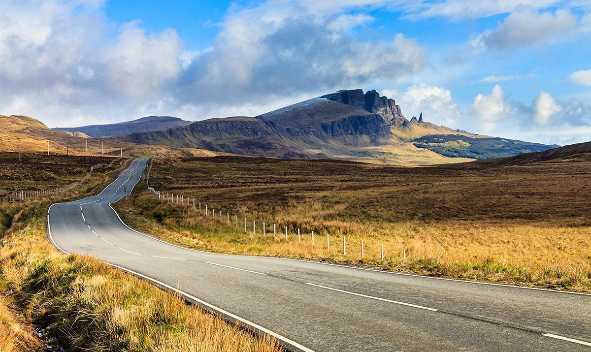 苏格兰高地自驾
