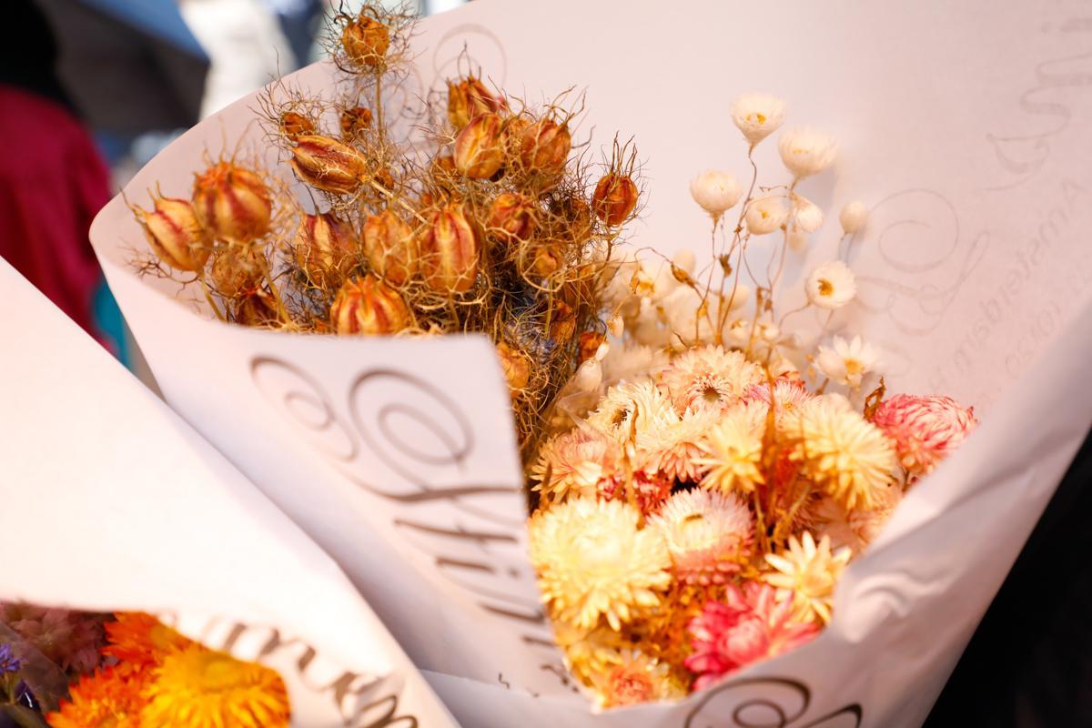 花卉市场买的干花