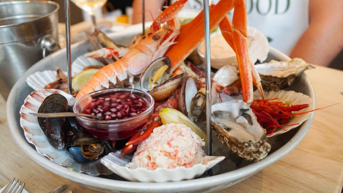 Seafood Bar 海鲜拼盘