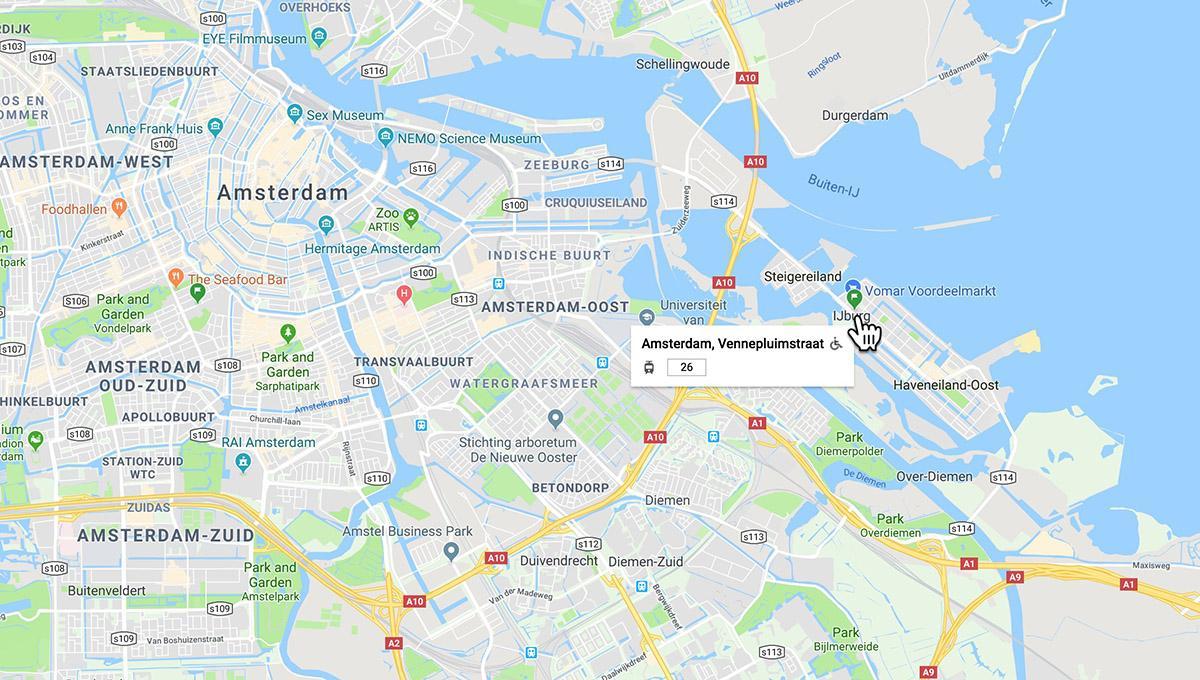 阿姆斯特丹IJburg区域酒店较便宜