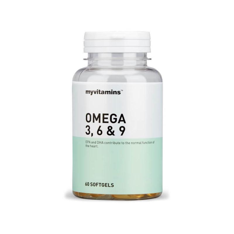 Myvitamins Omega 3-6-9 鱼油