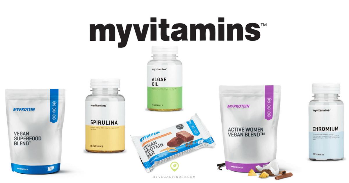 Myvitamins明星产品推荐