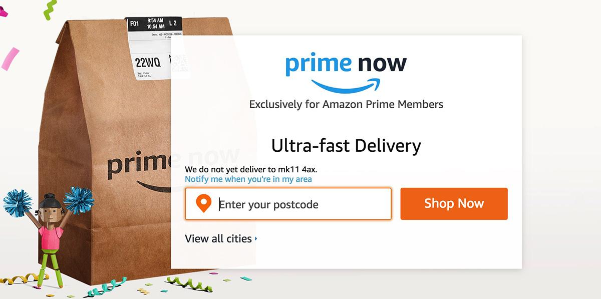 Ultra-fast delivery