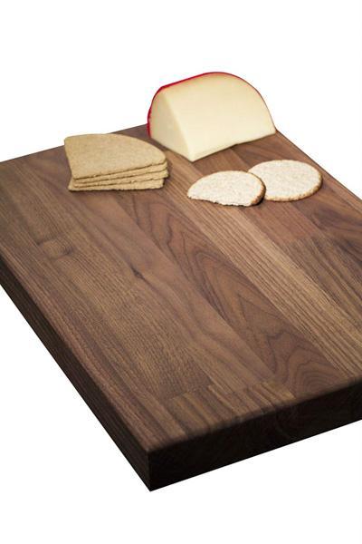Solid Black American Walnut Wooden Chopping Board