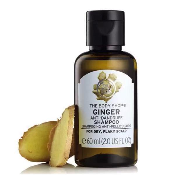 the body shop ginger shampoo 生姜洗发水