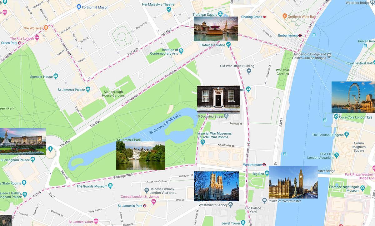 伦敦自助游线路推荐