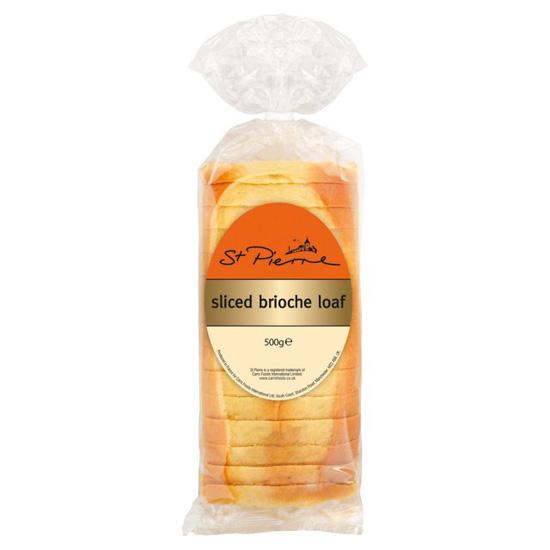 St Pierre Sliced Brioche Loaf