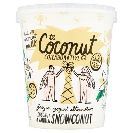 Coconut & Vanilla Snowconut Frozen Yoghurt