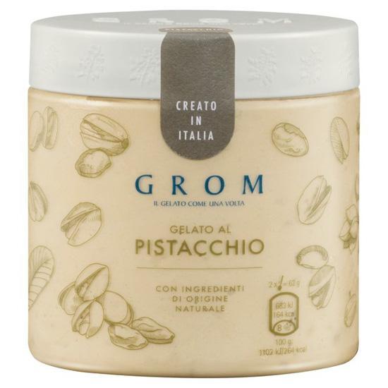 Grom Pistachio Gelato Ice Cream