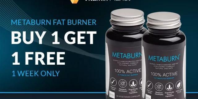 Metaburn 减肥燃脂胶囊4周年庆,买一赠一 + 赠送Metashake 奶昔