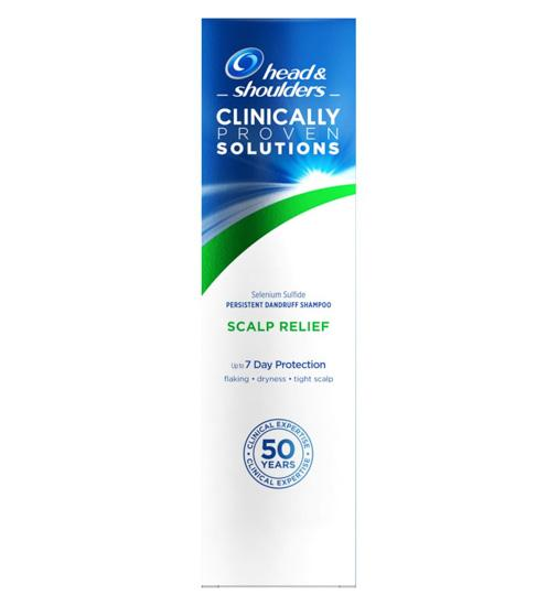 Head & Shoulders Clinically Proven Solutions Scalp Relief Shampoo