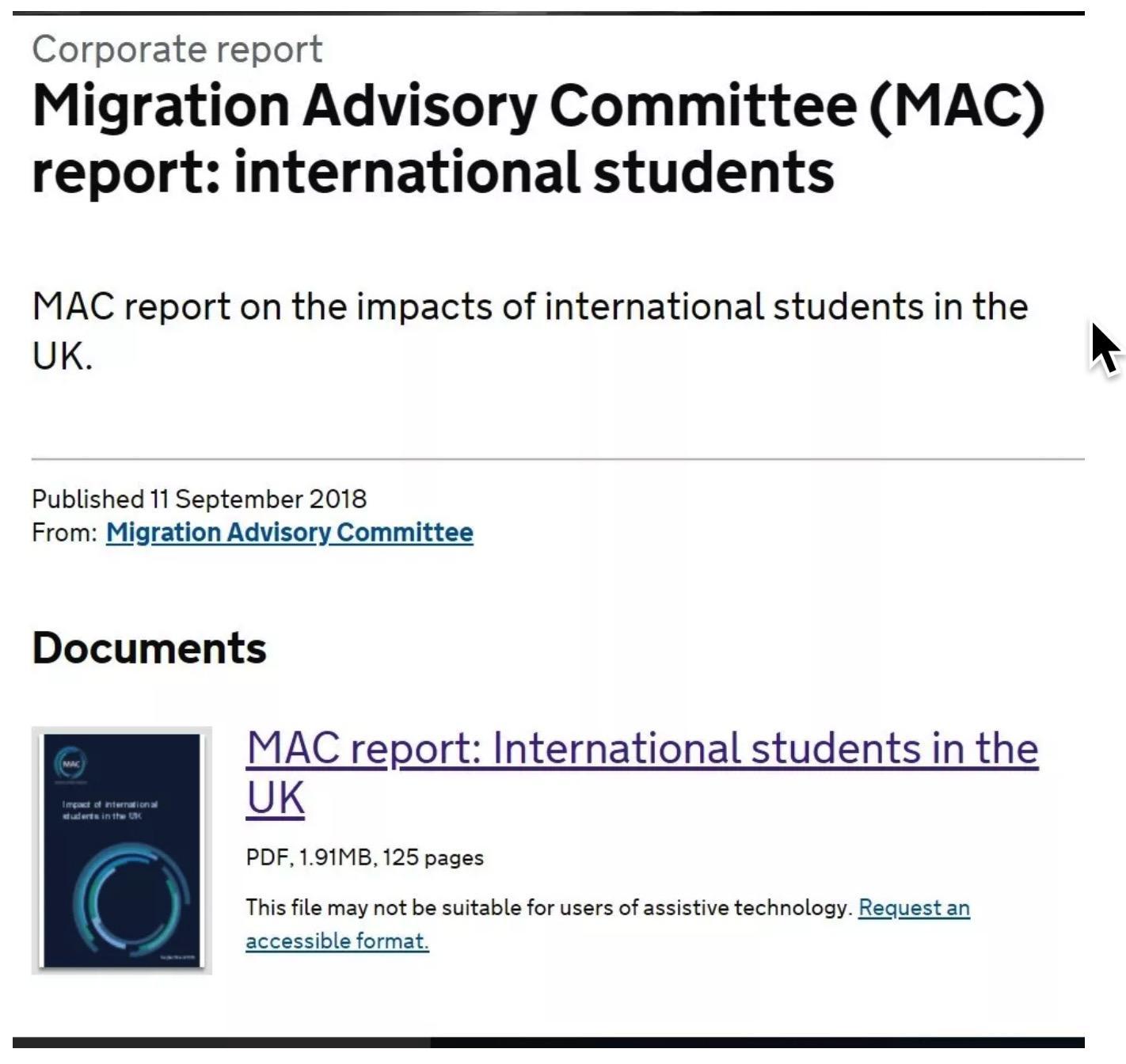国际留学生的调查报告