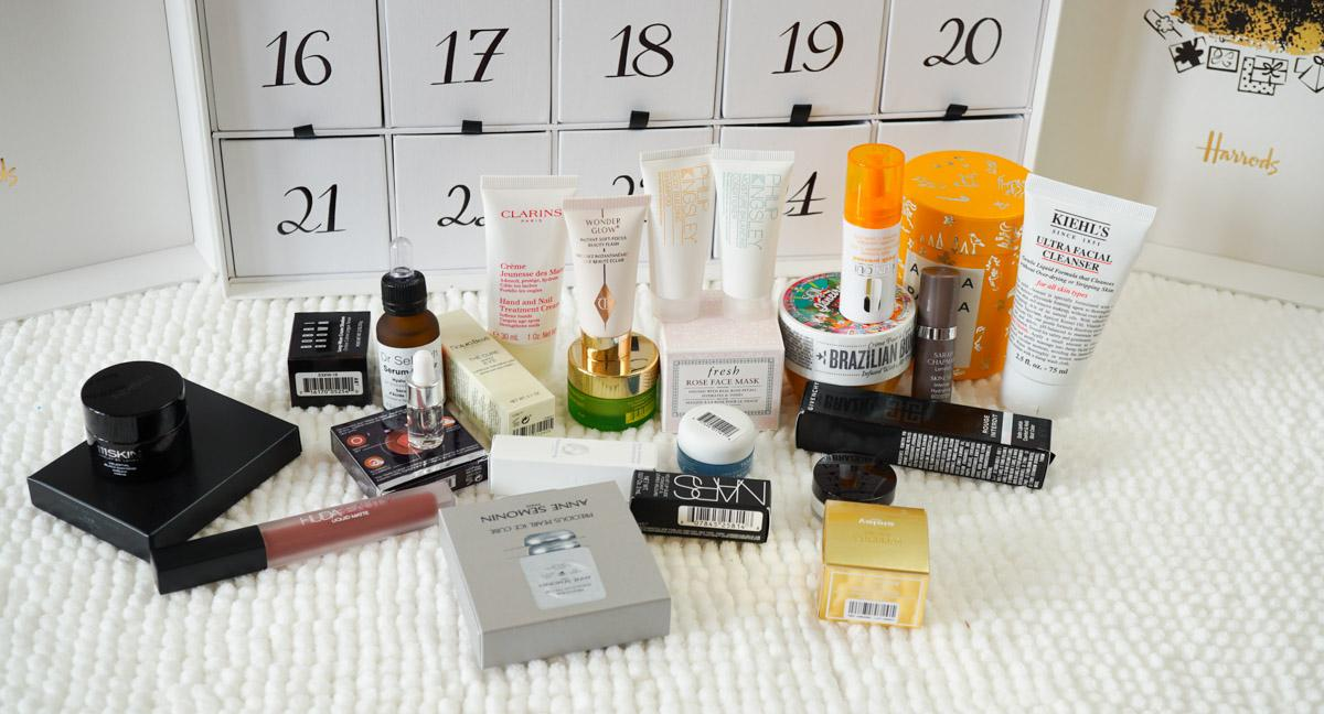2018 Harrods Beauty Advent Calendar