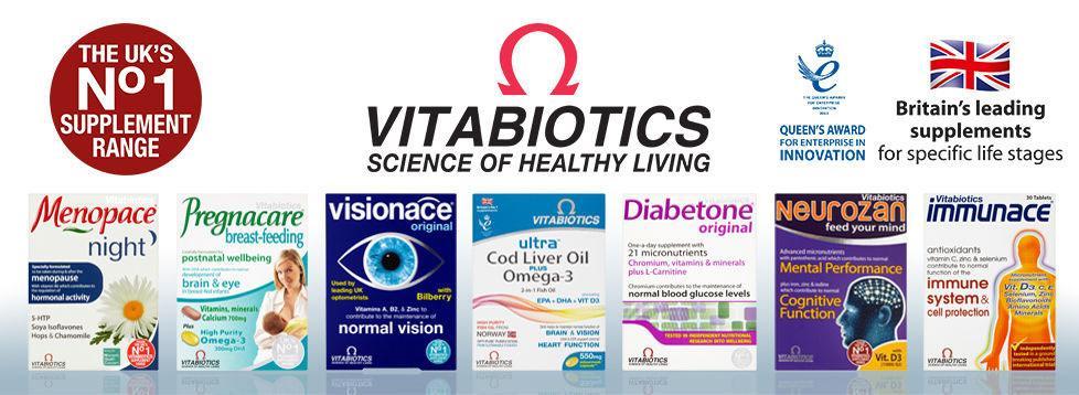 Vitabiotics 保健品双十一打折