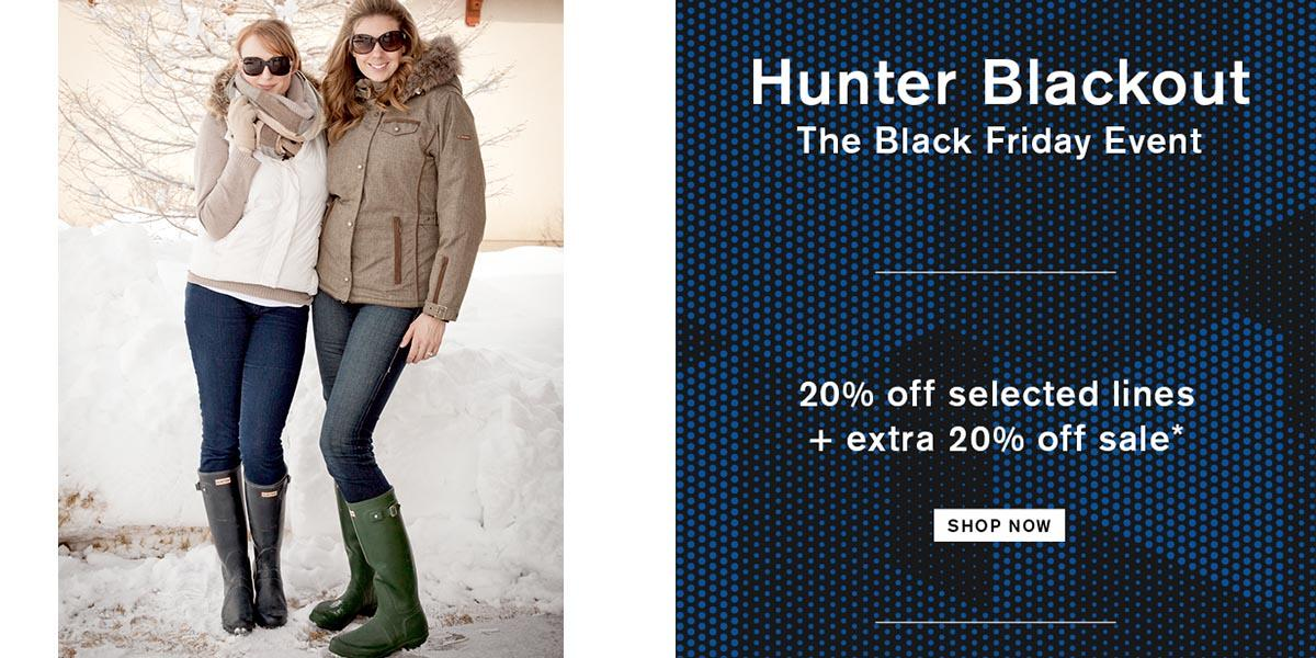 Hunter 黑五折扣