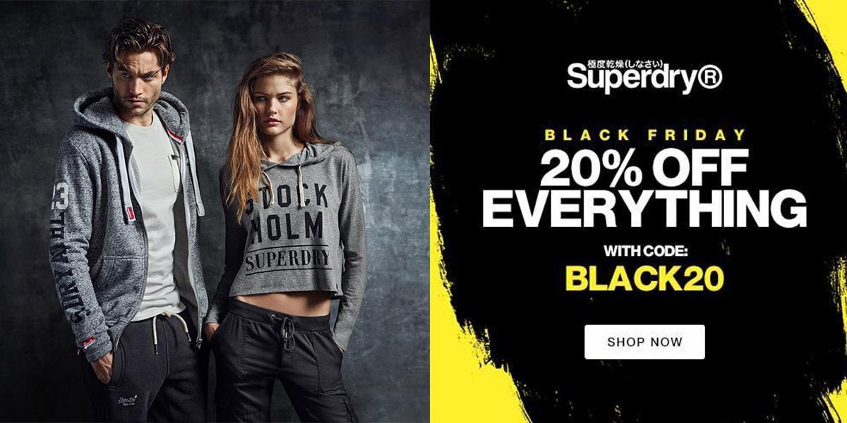 2018 Superdry Black Friday Deal