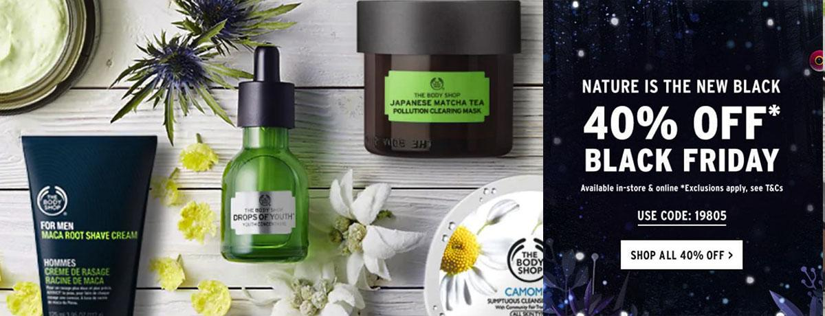 The Body Shop Black Friday Deal