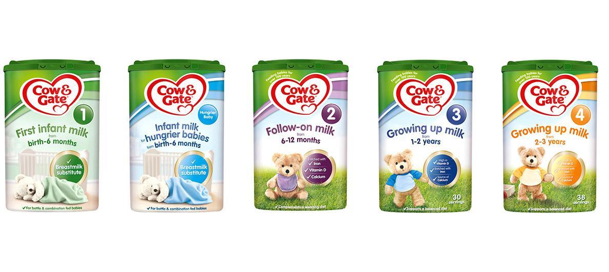 英国牛栏奶粉最新包装