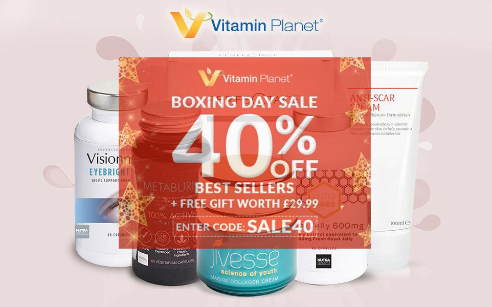Vitamin Planet Boxing Day 折扣