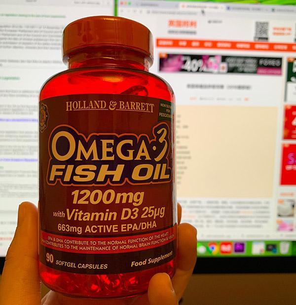 HB Omega 3 Fish Oil